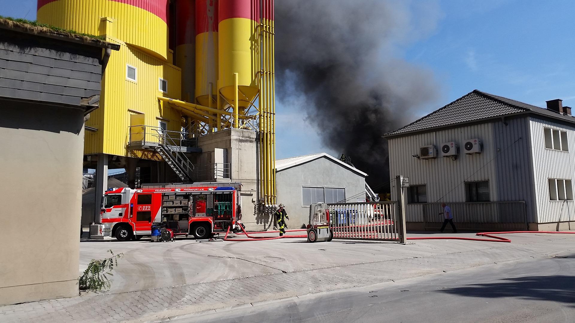 incendio in ufficio TecnoAcademy